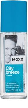 Mexx City Breeze desodorizante vaporizador para homens 75 ml