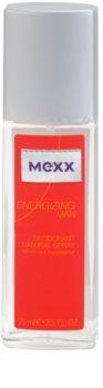 Mexx Energizing Man deodorante con diffusore per uomo 75 ml