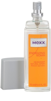 Mexx Energizing Woman deodorant s rozprašovačem pro ženy 75 ml