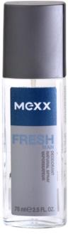 Mexx Fresh Man deodorante con diffusore per uomo 75 ml