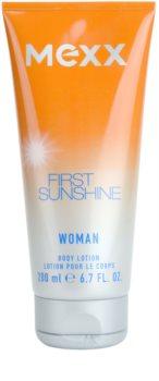 Mexx First Sunshine Woman lapte de corp pentru femei 200 ml