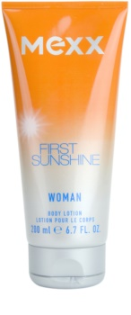 Mexx First Sunshine Woman tělové mléko pro ženy 200 ml