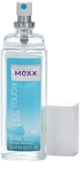 Mexx Ice Touch Woman deodorant s rozprašovačem pro ženy 75 ml