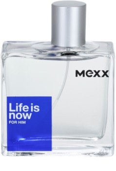 Mexx Life is Now for Him Eau de Toilette voor Mannen 75 ml