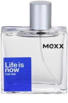 Mexx Life is Now for Him Eau de Toilette für Herren 50 ml