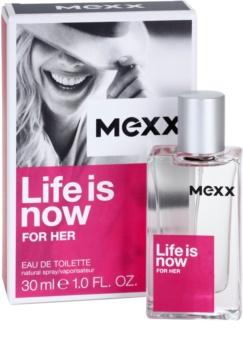 Mexx Life is Now for Her toaletní voda pro ženy 30 ml