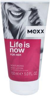 Mexx Life is Now for Her mleczko do ciała dla kobiet 150 ml