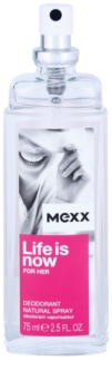 Mexx Life is Now  for Her Perfume Deodorant for Women 75 ml