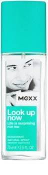 Mexx Look Up Now For Him Deo mit Zerstäuber für Herren 75 ml