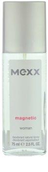 Mexx Magnetic Woman desodorizante vaporizador para mulheres 75 ml