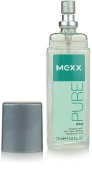 Mexx Pure for Man Deo mit Zerstäuber für Herren 75 ml