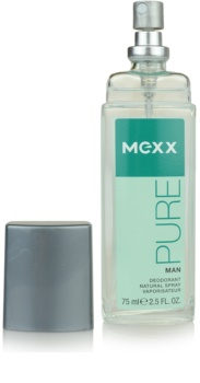 Mexx Pure for Man deodorant s rozprašovačem pro muže 75 ml