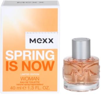 Mexx Spring is Now Woman toaletna voda za ženske 40 ml