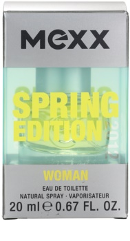 Mexx Spring 2012 Eau de Toilette für Damen 20 ml