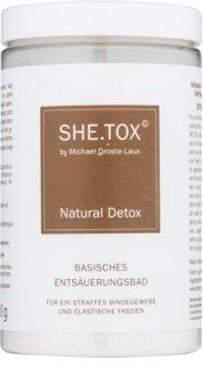 Michael Droste-Laux SHE.TOX baño desintoxicante