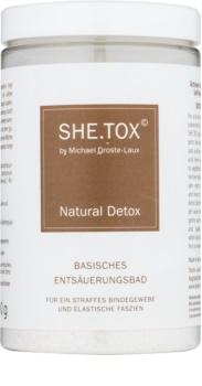 Michael Droste-Laux SHE.TOX detoxikační koupel