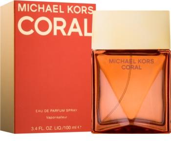 Michael Kors Coral Eau de Parfum για γυναίκες 100 μλ