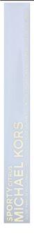 Michael Kors Sporty Citrus acqua profumata roll-on per donna 2 x 5 ml + lucidalabbra