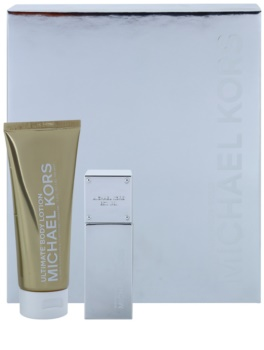 Michael Kors White Luminous Gold Gift Set I.