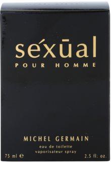 Michel Germain Sexual Pour Homme Eau de Toilette para homens 75 ml