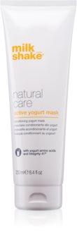 Milk Shake Natural Care Active Yogurt активна йогуртова маска для волосся