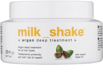 Milk Shake Argan Oil trattamento all'olio per tutti i tipi di capelli