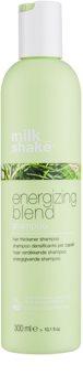 Milk Shake Energizing Blend champô energizante para desbaste ligeiro e cabelos quebradiços