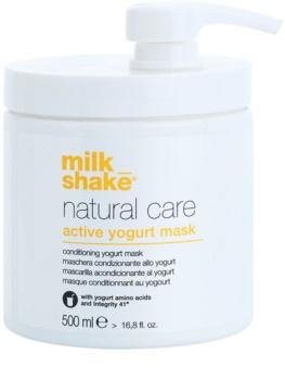 Milk Shake Natural Care Active Yogurt masque actif au yaourt pour cheveux