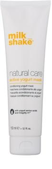 Milk Shake Natural Care Yogurt nawilżająca maseczka jogurtowa do włosów naturalnych i farbowanych