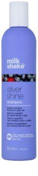 Milk Shake Silver Shine Shampoo for Grey and Blonde Hair