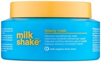 Milk Shake Sun & More mască hrănitoare și intens hidratantă pentru parul deteriorat de efectele solare , clor si sare