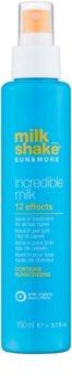 Milk Shake Sun & More mleczko bez spłukiwania do wszystkich rodzajów włosów