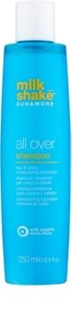 Milk Shake Sun & More champú hidratante para cabello y cuerpo