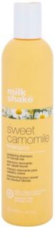 Milk Shake Sweet Camomile šampón s harmančekom pre blond vlasy