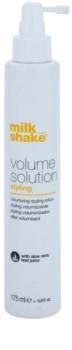 Milk Shake Volume Solution spray para dar definición al peinado para dar volumen y forma