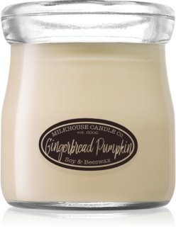 Milkhouse Candle Co. Creamery Gingerbread Pumpkin bougie parfumée Cream Jar