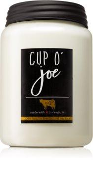 Milkhouse Candle Co. Farmhouse Cup O' Joe mirisna svijeća Mason Jar
