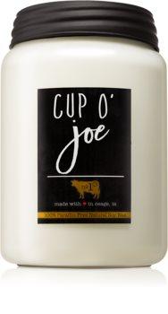 Milkhouse Candle Co. Farmhouse Cup O' Joe vonná svíčka Mason Jar 737 g