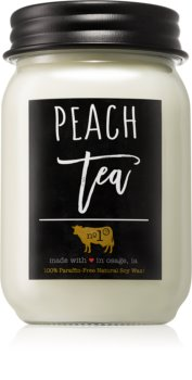 Milkhouse Candle Co. Farmhouse Peach Tea dišeča sveča