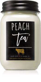 Milkhouse Candle Co. Farmhouse Peach Tea vela perfumada 368 g