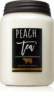 Milkhouse Candle Co. Farmhouse Peach Tea ароматна свещ  737 гр. Mason Jar