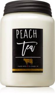 Milkhouse Candle Co. Farmhouse Peach Tea mirisna svijeća 737 g Mason Jar