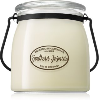 Milkhouse Candle Co. Creamery Southern Jasmine αρωματικό κερί Butter Jar 454 γρ