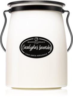 Milkhouse Candle Co. Creamery Eucalyptus Lavender illatos gyertya  Butter Jar 624 g
