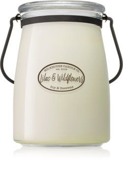Milkhouse Candle Co. Creamery Lilac & Wildflowers vonná svíčka Butter Jar 624 g