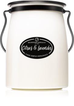 Milkhouse Candle Co. Creamery Citrus & Lavender vonná svíčka Butter Jar 624 g