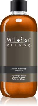 Millefiori Natural Vanilla and Wood Refill for aroma diffusers 500 ml