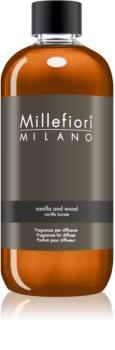 Millefiori Natural Vanilla and Wood reumplere în aroma difuzoarelor 500 ml