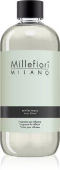 Millefiori Natural White Musk ricarica per diffusori di aromi 500 ml
