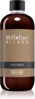 Millefiori Natural Sandalo Bergamotto nadomestno polnilo za aroma difuzor 500 ml
